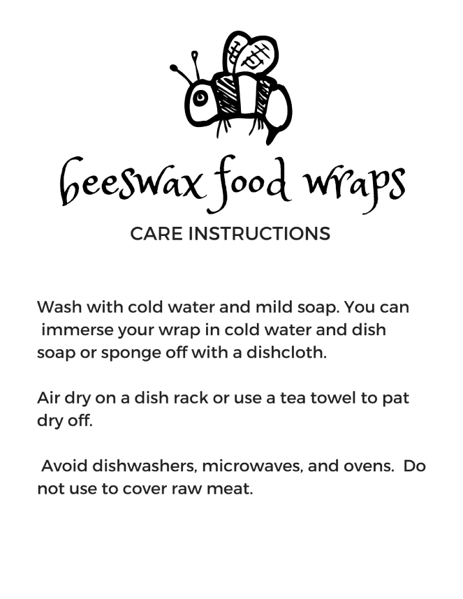 beeswax wrap instructions